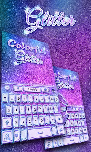 Colorful Glitter KeyboardTheme