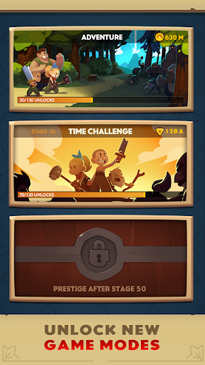 Almost a Hero - RPG Clicker Game with Upgrades  mod screenshots 4