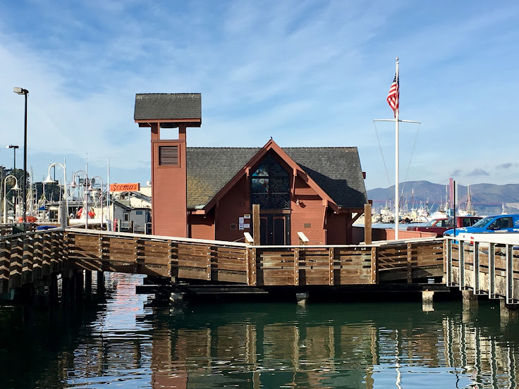 The Fisherman's and Seaman's Memorial Chapel.