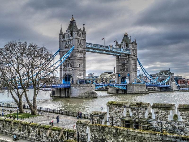 倫敦旅遊必去景點─倫敦塔橋