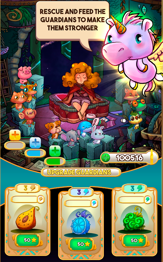 Run Lucky! A Fairy Tale Star- screenshot