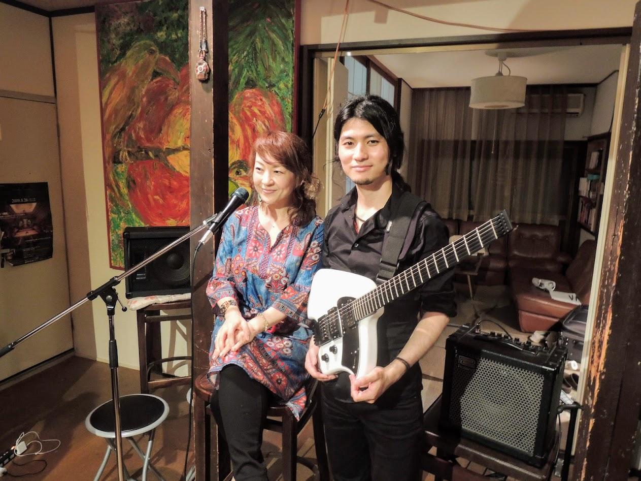 Yukiko Makino and Chiaki Kanamori