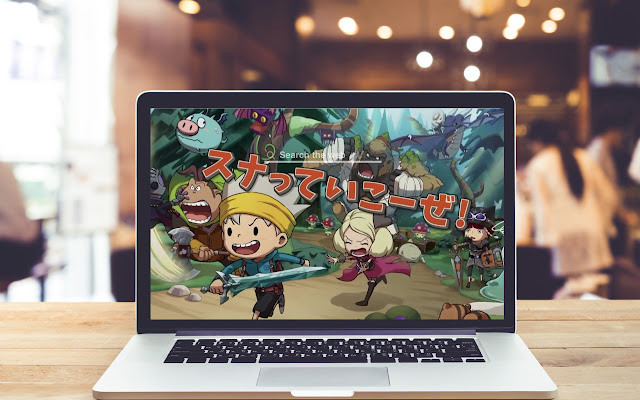 Snack World The Dungeon Crawl Wallpaper Theme
