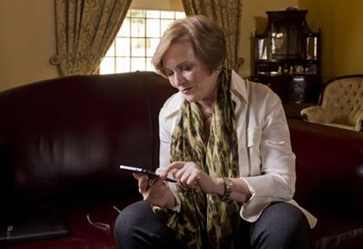 TAKING UP THE BURDEN: Helen Zille has sent, on average, 17 tweets a day for six years no matter how unpleasant some of her trolls.