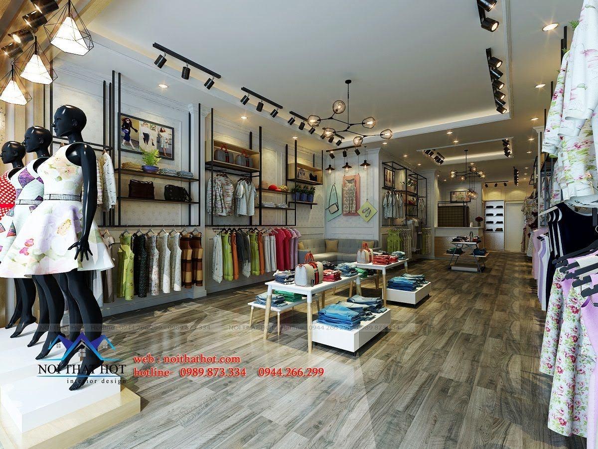 thiết kế shop thời trang nữ Bi's Boutique 4