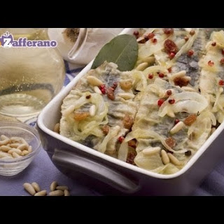 Sweet and Sour Sardines (Sarde in Saor) Traditional Italian Recipe (VIDEO) Recipe