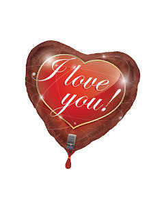 Folieballong, I love you