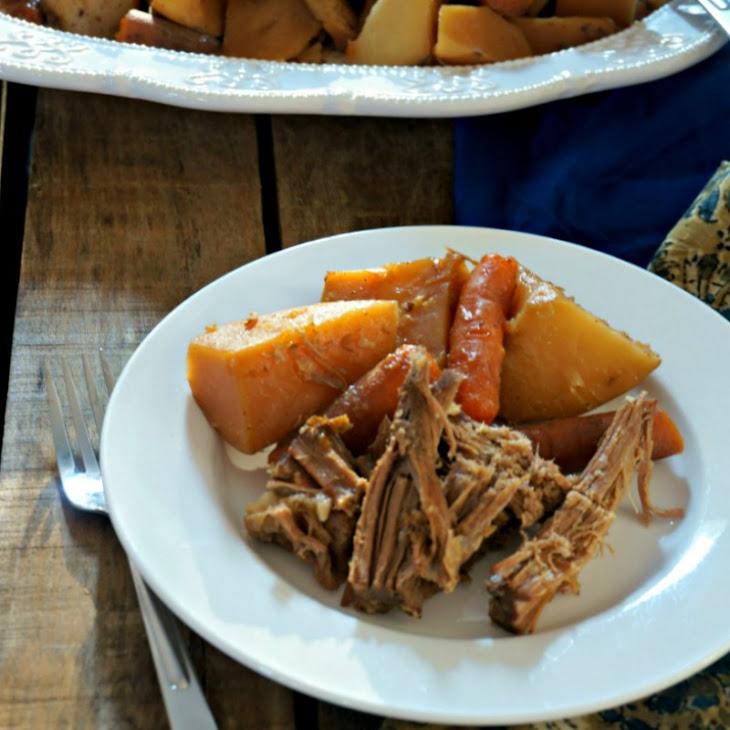 5 Ingredient Slow Cooker Pot Roast Recipe