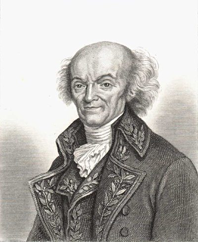 Photo: Joseph Jérôme Lefrançais de Lalande. Public domain enligt Wikimedia Commons.