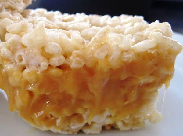 Crispy Caramel Coconut Treats Recipe
