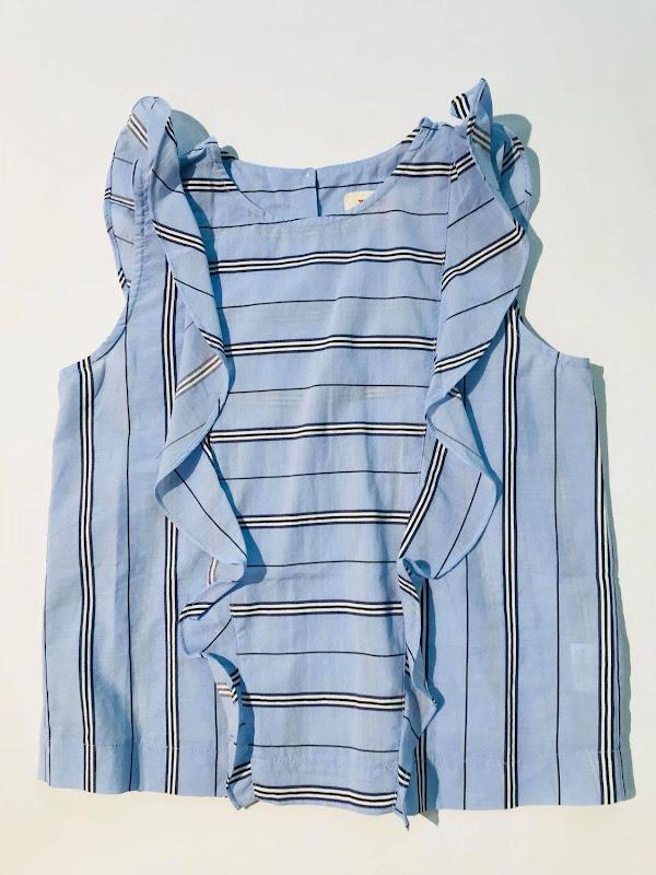 Savoy Blouse Blue Stripe - Enkel in 10 jaar