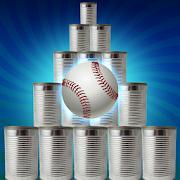 Cans Hit Knock Down - Baseball Can Shooter Smash