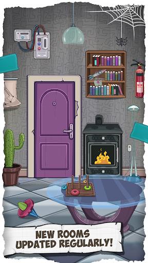 Fun Escape Room Puzzles u2013 Can You Escape 100 Doors apktram screenshots 4