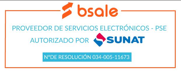 Bsale es Proveedor de Servicios Electrónicos