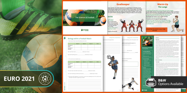 Sports Resources: Euro Science Lesson