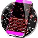 Neon Hearts Keyboard icon