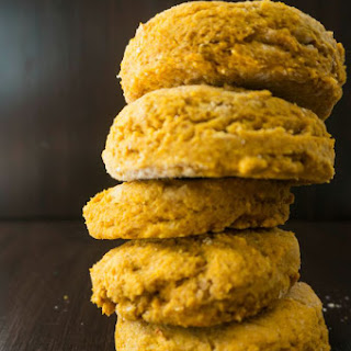 Sweet Potato Whole Wheat Biscuits