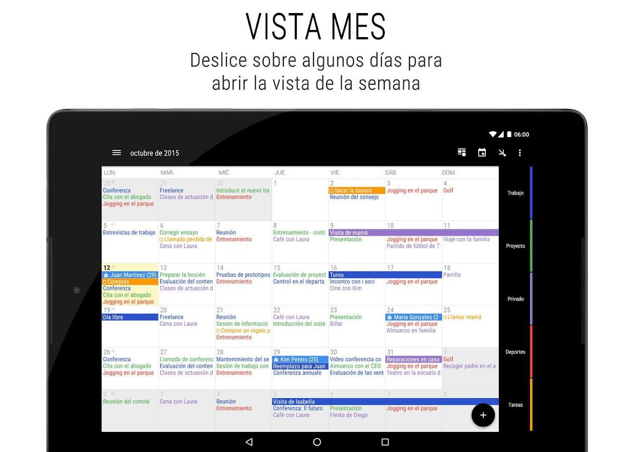 Calendario Business Agenda - Aplicaciones de Android en Google Play