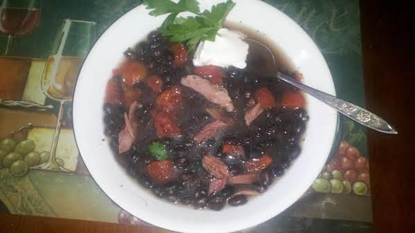Mertzie's Smoky Black Bean Soup