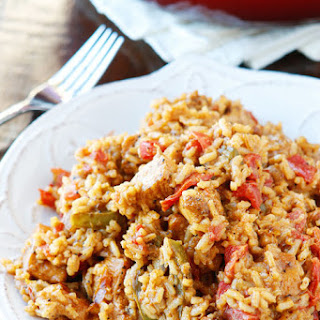 Cajun Chicken & Rice