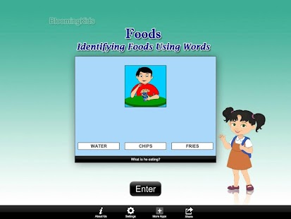 Identifying Foods Using Words- screenshot thumbnail