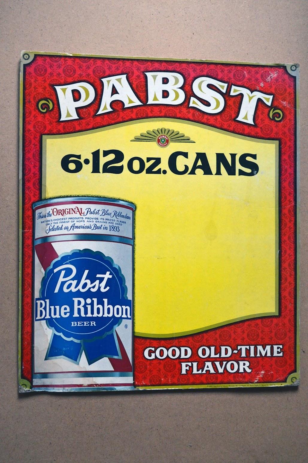 Pabst - Blue Ribbon Bier