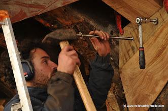 Photo: Ils servent à ce qu'il y ait suffisament de bois pour fixer les bordés à l'endroit où ils sont presque parrallèles à l'axe du bateau.