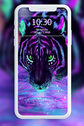 Neon Animals Wallpaper 1.0 screenshots 3