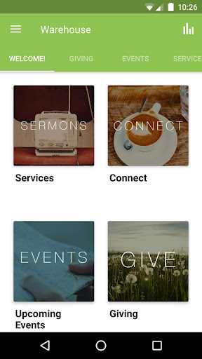 The Warehouse Church App 3.8.0 screenshots 1