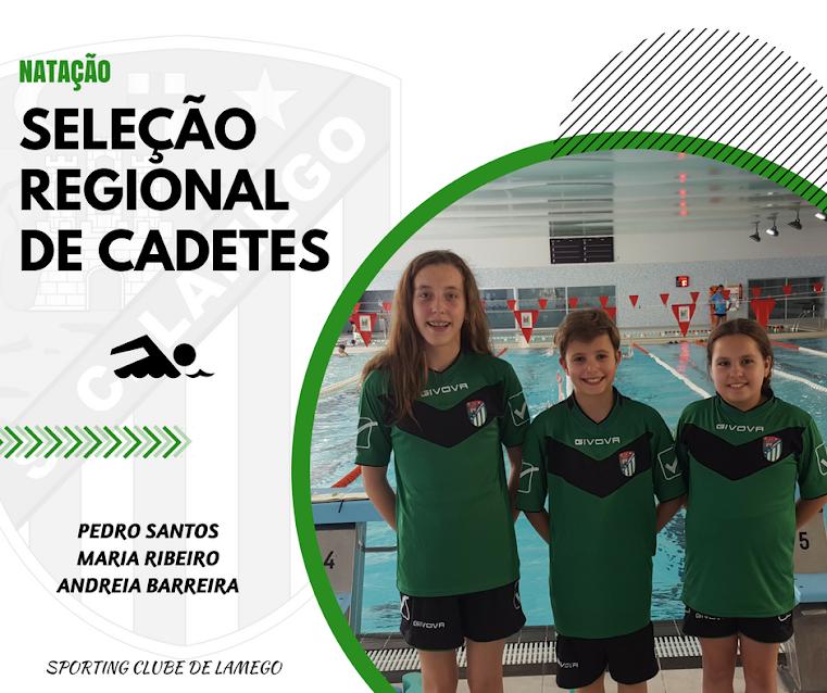 SCL com três atletas convocados para a Seleção Regional