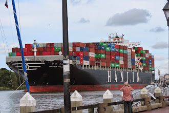 Photo: Huge ship from Asia heads into Savannah harbor