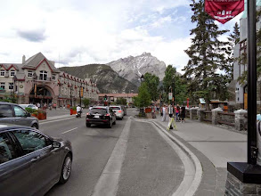 Photo: Banff im Banff National Park/Alberta
