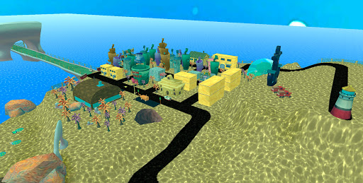 Bikini Bottom Map - Original Bob Adventure Game android2mod screenshots 1