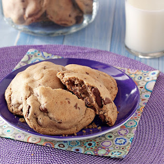 Chocolate Malted Cookies.