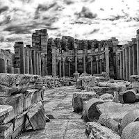 quel che rimane di Leptis Magna, Libia di