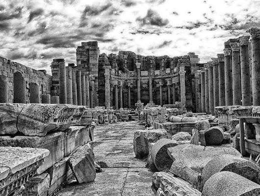 quel che rimane di Leptis Magna, Libia di antonioromei