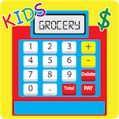 Kids Cash Register Grocery