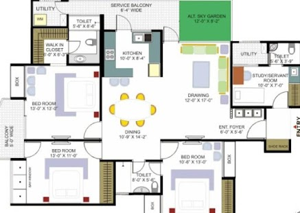 House building plans android apps on google play for Office floor plan app
