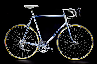 Photo: A real classic with SLX tubing and the polished Dura Ace 25th Anniversary group.