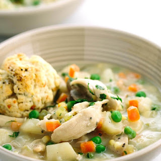 Pot Pie Soup With Turkey Leftovers