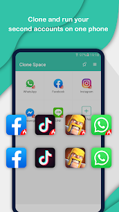 Clone Space – Multiple accounts & App parallel (MOD, Premium) v1.4.3 1