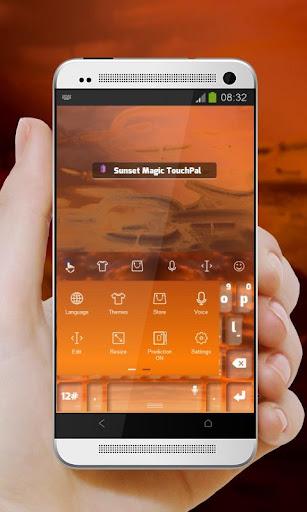 玩個人化App|日落魔术Rìluò móshù TouchPal免費|APP試玩