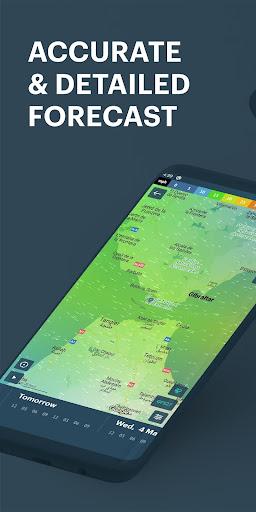 Windy.app: precise local wind & weather forecast screenshots 1