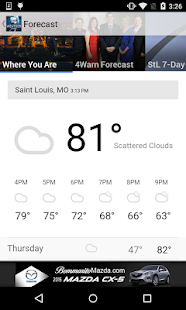 St. Louis Weather - KMOV- screenshot thumbnail