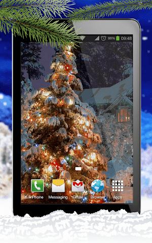 android Schnee Live-Hintergründe Screenshot 5
