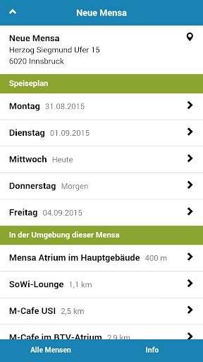 Mensa Innsbruck