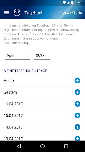 Pollenflug-Vorhersage 2.7 screenshots 7