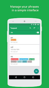 Texpand Pro - Text Expander v1.4.3