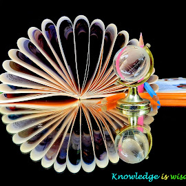 Knowledge is... by Asif Bora - Typography Quotes & Sentences