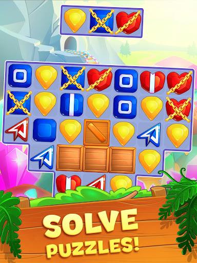 Crystal Crunch: New Match 3 Puzzle | Swap Gems 1.6.1 screenshots 10